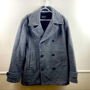 Merona med men's gray pea coat